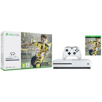 Linio: Consola Xbox One S 500GB + FIFA 17