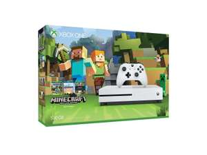Amazon: Xbox One S 500 GB + FIFA 17 o + Gears of War 4 o + Minecraft