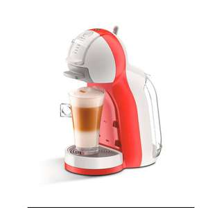 Amazon MX: Cafetera Dolce Gusto Mini Me Color Rojo y Blanco