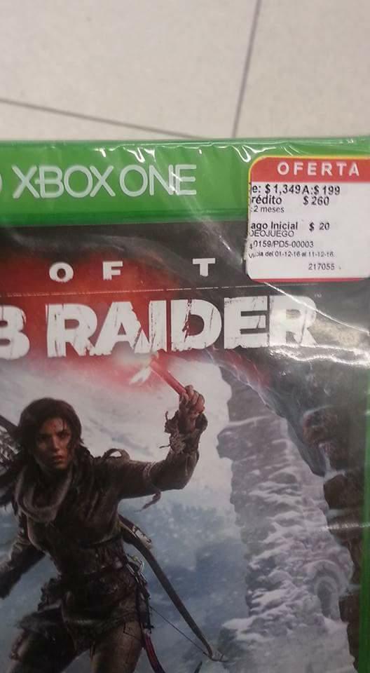 Coppel La Paz Baja California Sur: rise of the tomb raider para Xbox One $199