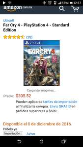 Amazon: Far Cry 4 $306
