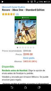 Amazon: Recore Standard Edition Xbox One