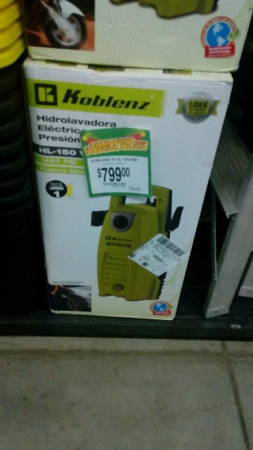 Bodega Aurrerá: hidrolavadora Koblenz 1450 psi a $799