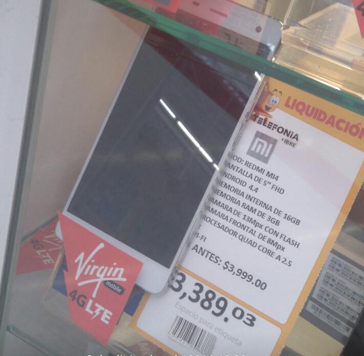 Walmart Torres Landa: Xiaomi Redmi Ml4