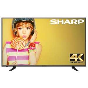 "Linio: Smart TV Sharp LC-43N6100U de 43"" LED UHD 4K, 60 Hz reacondicionada a $5,249 con débito Mastercard"