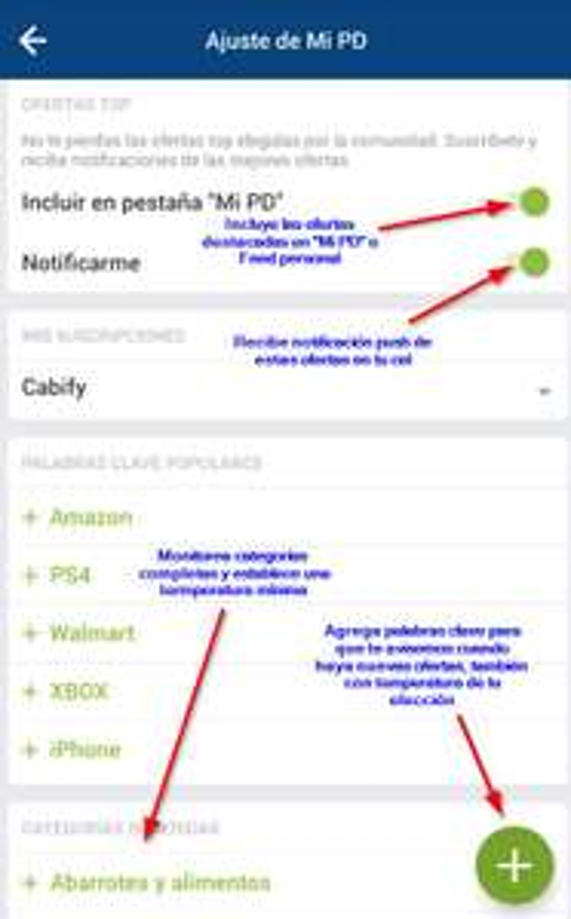 [APP] Nuevo sistema de notificaciones push y alertas + problema arreglado