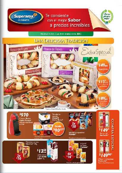 Folleto Superama enero 2: descuentos cereales Special K, bebidas Ades, Del Valle, Boing y más