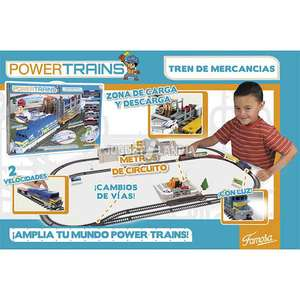 Mequedouno: tren electrico power trains tren de mercancias