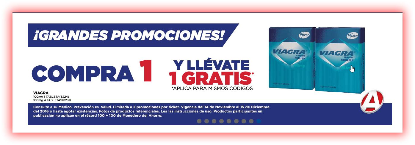 Farmacias del Ahorro: 2X1 Viagra wuuuuuuuu