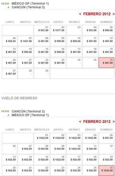 Vivaaerobus: vuelos sencillos desde $500 para febrero y marzo, $700 en enero