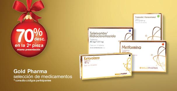 Farmacias Benavides 70% de descuento en la 2ª caja de medicamento