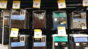 Walmart: cortinas black out a$100.03