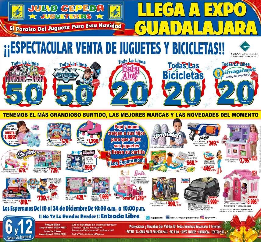 Julio Cepeda: 50% de descuento en todo Monster High y Max Steel y más