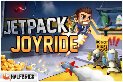 Jetpack Joyride gratis para iPhone (de los creadores de Fruit Ninja)