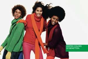 Groupon: gift card para Benetton de $400 a $240