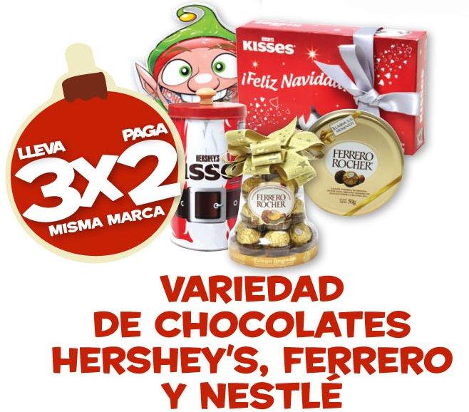 Farmacias Benavides: 3x2 en pañales, chocolates (selección) y más