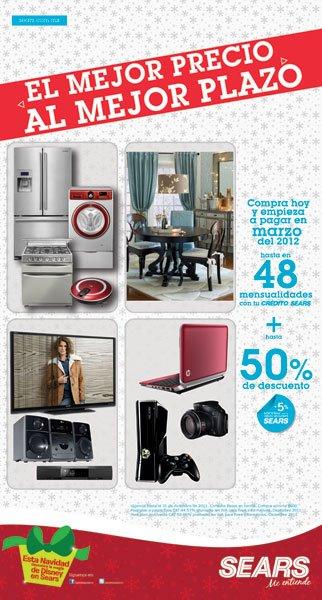Sears: hasta 50% de descuento en toda la tienda y más