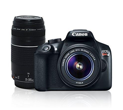 Amazon Mexico: Canon Cámara Digital EOS Rebel T6 combo lente 18-55mm + lente EF 75-300mm a su mejor precio EVER!!