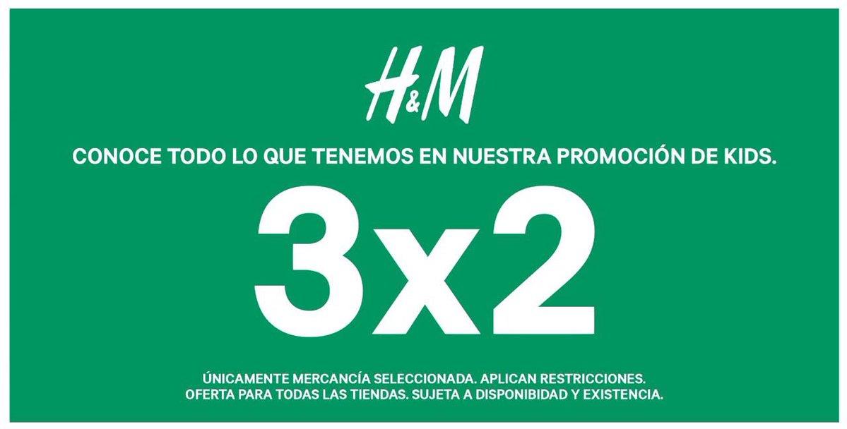 H&M: 3x2 en ropa de niños
