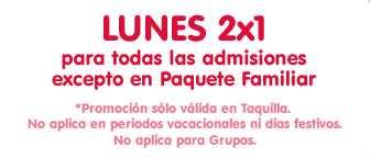 Oferta permanente Papalote Museo del niño: lunes de 2x1