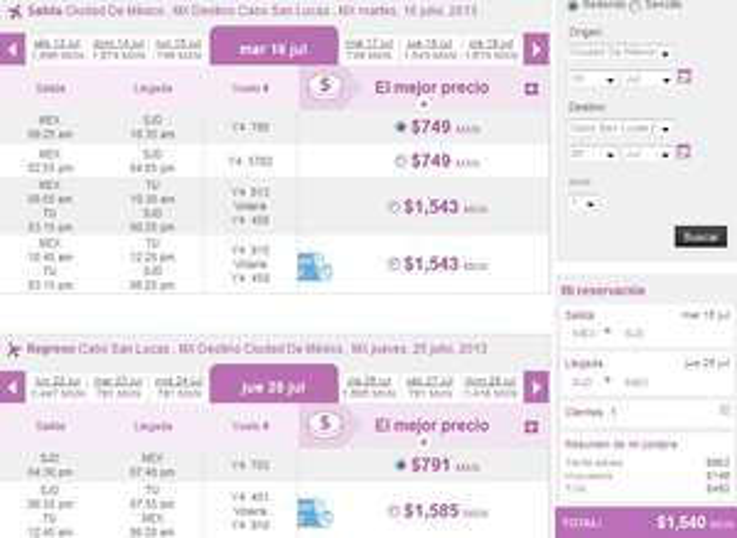Volaris: vuelos desde y hacia Cancún desde $699 sencillo