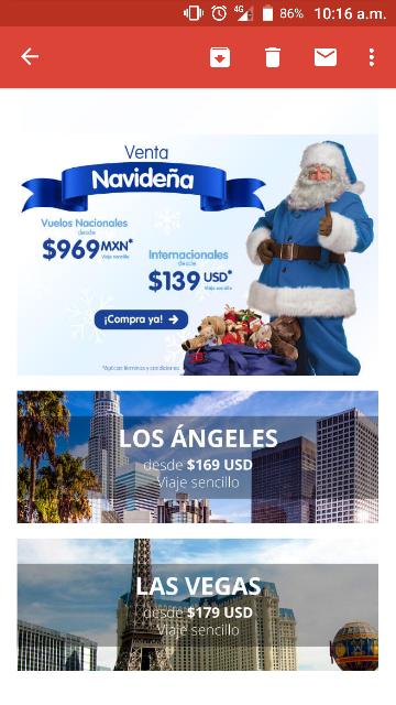 Interjet: venta navideña internacionales desde 139 USD