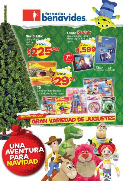 Folleto Farmacias Benavides: 3x2 en Pampers Cruisers, preservativos Trojan, pilas Duracell y más