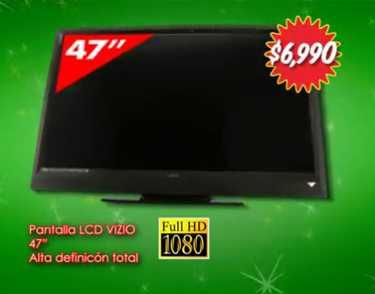 "Ofertas Bodegazo Bodega Aurrerá: Pantalla LCD 47"" $6,990, refri 16' $3,999 y más"