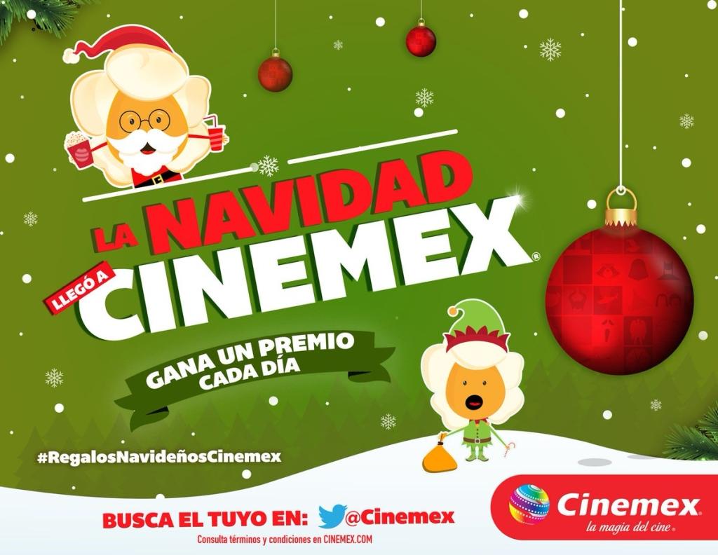 Cinemex: Regalos Navideños Día 2 CHAPATA YORK