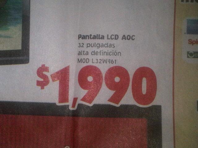 """Ofertas del Buen Fin en Mercado Soriana: pantalla LCD 32"""" $1,990, 42"""" $3,500, Xbox con Kinect $3,500 y más"""