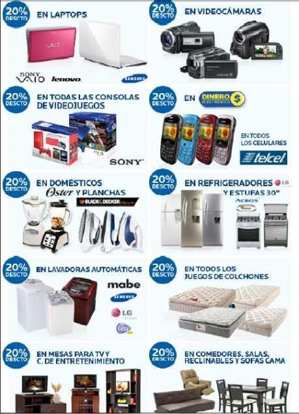 Ofertas del Buen Fin en Coppel: 20% en consolas, laptops, colchones, lavadoras, muebles y más