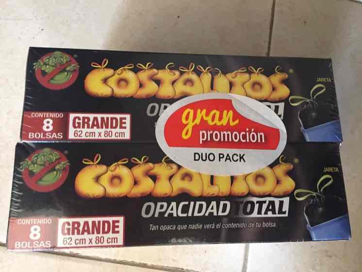 Bodega Aurrerá: Duo pack Bolsas para basura Costalitos grande a $14.02