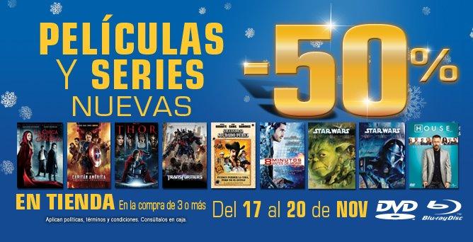 Blockbuster: 50% de descuento en películas y series este fin