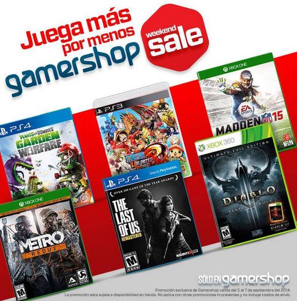 Ofertas de Hot Sale México 2014 en Gamers: Madden NFL 15 $699 y más