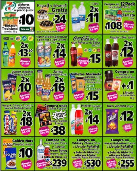 Ofertas del mes 7 Eleven: 7x6 en Tecate, 2 Red Bull x $50 y más