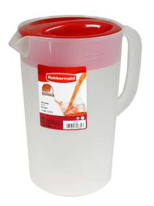 Amazon: TRES jarras Rubbermaid de 1 Galón (3.8 L)
