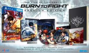 Amazon: The King of Fighters XIV - Burn to Fight Premium - PlayStation 4 - Special Limited Edition