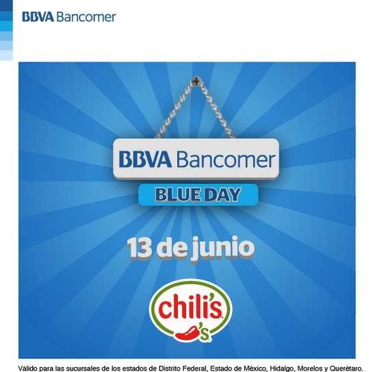 Chili's: mañana $200 de descuento en consumo de $450 con Bancomer