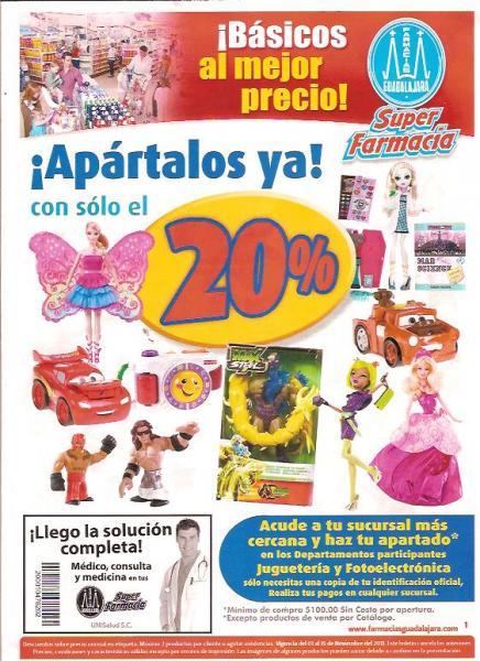 Folleto Farmacias Guadalajara: 2x1 en Omeprazol, 40% de descuento en Aderogyl, Histiacil y Stérimar y más