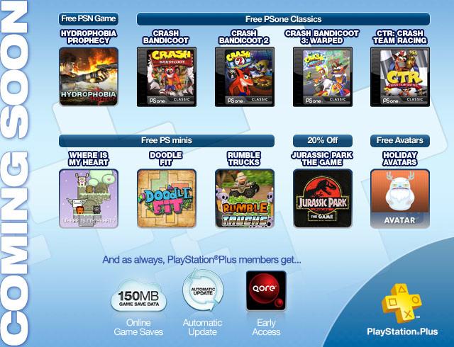 Ofertas noviembre Playstation Network Plus: juegos de Crash Bandicoot gratis y más