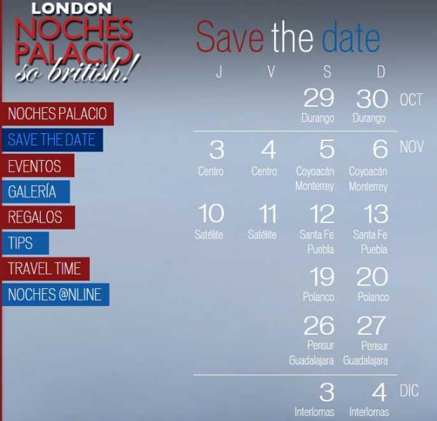 Palacio de Hierro: London Noches Palacio 24 meses sin intereses y 15% de bonificación.