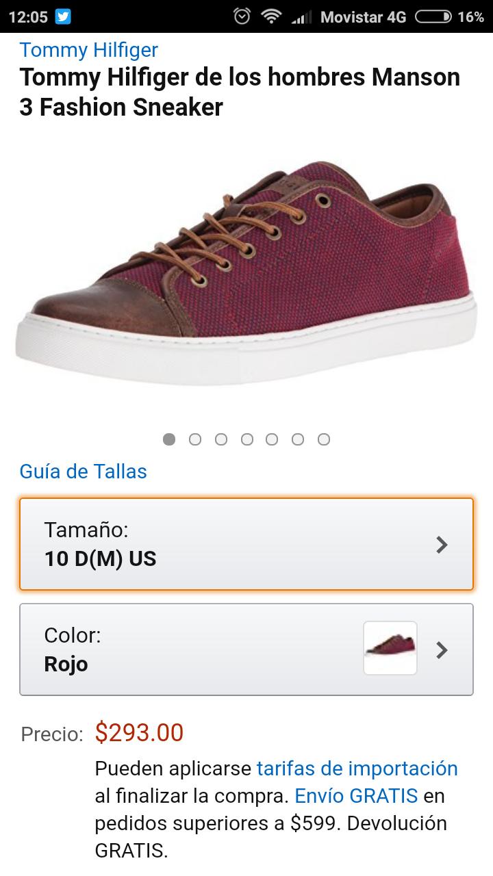 Amazon MX: Tommy Hilfiger zapatos casuales más barato que el clon  8)