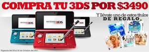 Game Planet: Nintendo 3DS y juego a $3,499