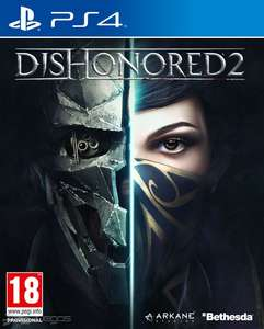 Amazon: Dishonored 2 para PS4 o Xbox One a $624