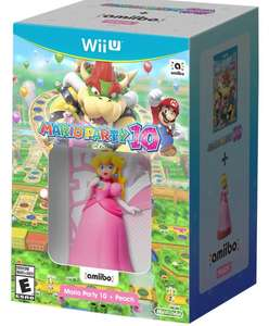 Amazon: Mario Party 10 con amiibo Peach a $699
