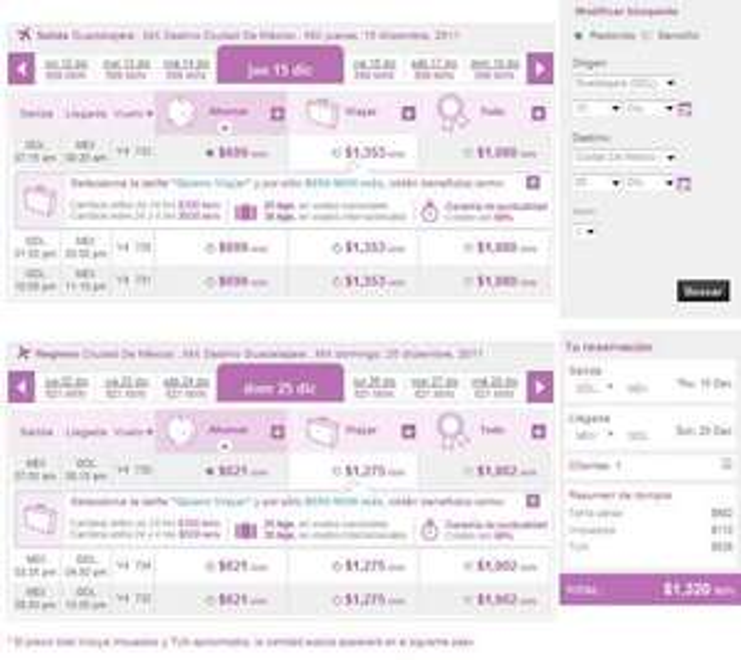 Volaris: vuelos redondos de y hacia el DF desde $1,500. Incluye Navidad y año nuevo!