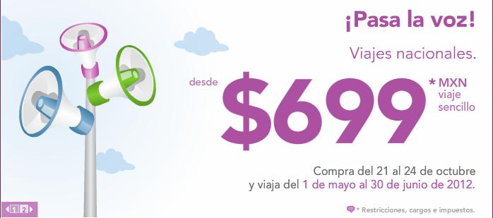 Volaris: vuelos nacionales desde $699 y a USA desde $110 USD en mayo y junio