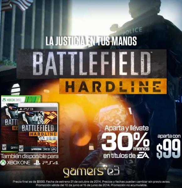 Gamers: 30% de descuento en varios juegos al comprar una preventa