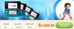 Cuponzote: Nintendo 3DS a $2,869