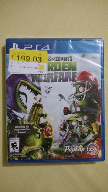 Bodega Aurrerá: Plantas vs Zombies Garden Warfare PS4 $199.03